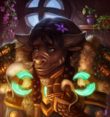 Tauren Druid Commission