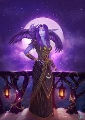 Night Elf Druid Commission