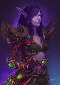 Void Elf Commission