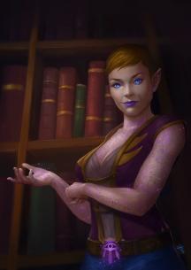 Commission of Olivia