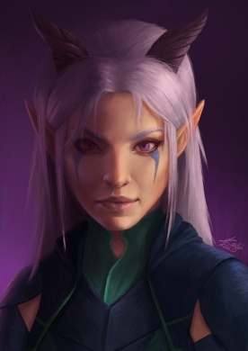 Rayla from The Dragon Prince, Fanart